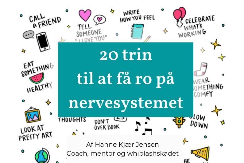 20 trin til at få ro på nervesystemet…